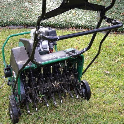 Lawn Aeration in North Texas